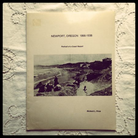 photo of a book for sale titled Newport, Oregon: 1866-1936: Portrait of a Coast Resort
